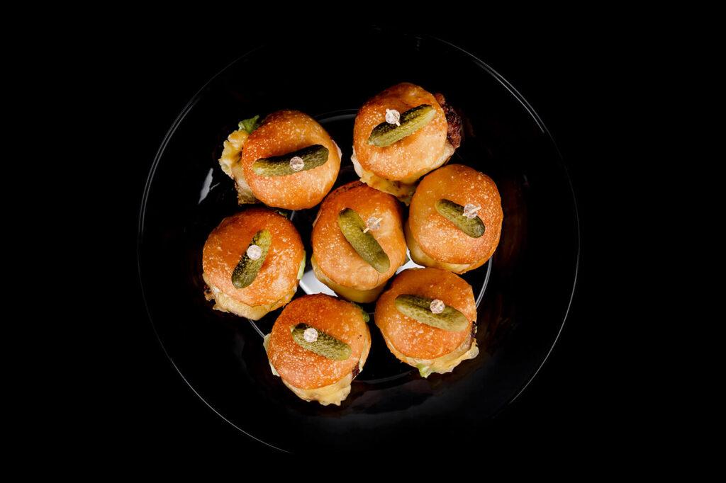 Deluxe Catering - Miniburgerid
